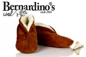 Spaanse sloffen bernardino 100% wol