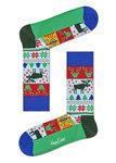 Happy Socks Fair Isle kerst sock
