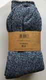 Wollen sokken lichtblauw