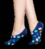 Happy Socks DOTS blauw liner 41-46_