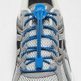 Lock Laces elastische veters blauw one size_