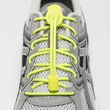 Lock Laces elastische veters neon lime yellow one size_