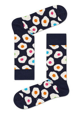 Happy Socks EGGS - blauw multi - maat 36-40 en 41-46