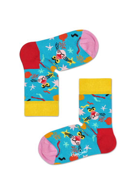 Happy Socks KIDS - Pink Panter - blauw multi - 0-12 maanden en 12-24 maanden