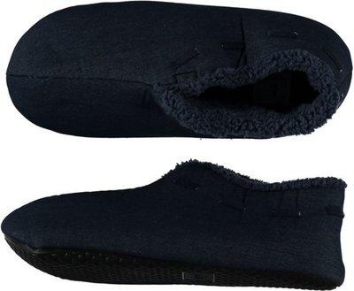 Spaanse sloffen heren Apollo donkerblauw / Jeans