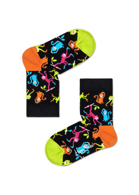Happy Socks KIDS - Monkeys - black  Multi - Unisex- 2-3 year and 4-6 year