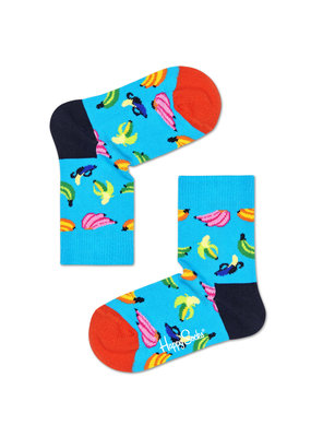 Happy Socks KIDS - Banana - blue multi - Unisex  - 2-3 jaar en 4-6 jaar