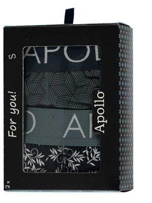 Apollo - boxershort heren - 2 pack - Blauw