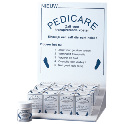 Pedicare DE zalf voor transpirerende voeten