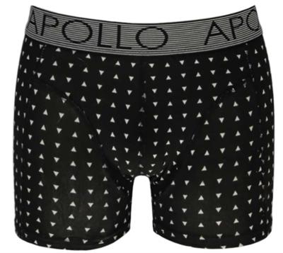 Apollo - boxershort heren - 2 pack - zwart
