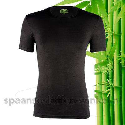 Maxx Owen | Boru bamboo | T-shirt | Ronde Hals | Zwart