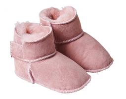 Baby slofjes Kuschl licht roze