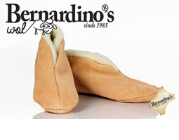 Spaanse sloffen bernardino beige 100% wol