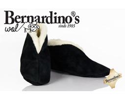 Spaanse sloffen bernardino zwart 100% wol