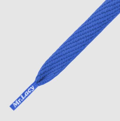 Mr. Lacy Flatties royal blauw plat 130 cm