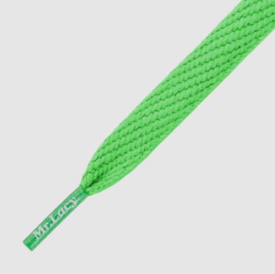 Mr. Lacy Flatties kelly groen plat 130 cm