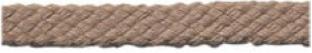 Cordial katoenen beige grof rond veters dikte 4 mm 120 cm