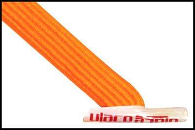 ULace elastiek veters bright orange