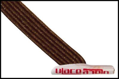 ULace elastiek veters brown
