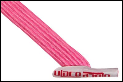 ULace elastiek veters bubble gum pink