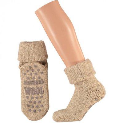 Apollo Huis sokken taupe