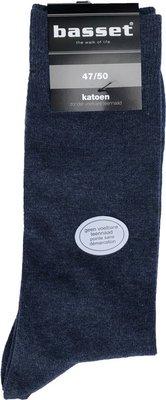 Basset jeansblauw sokken 47/50