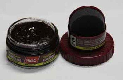 Zelf glans schoensmeer Palc bordeaux rood