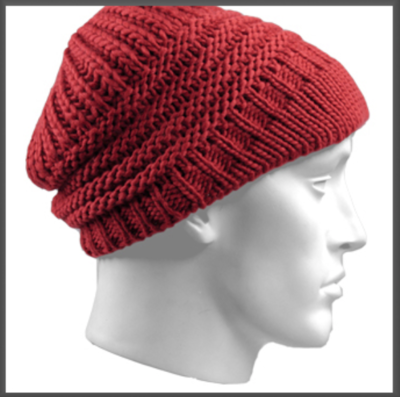 Ladies hat Kotka color red one size