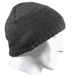 Mens hat grey Beanie one size
