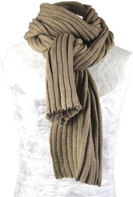 Sjaal bernardino Khaki UNI 186 cm