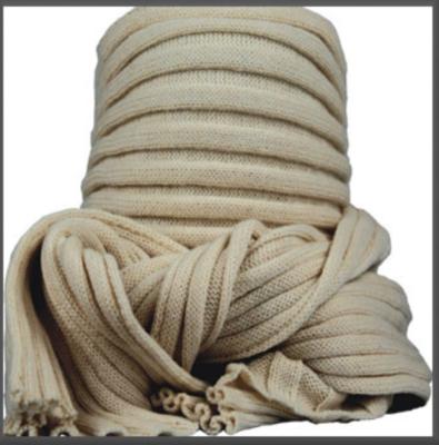 Sjaal bernardino ecru UNI 186 cm