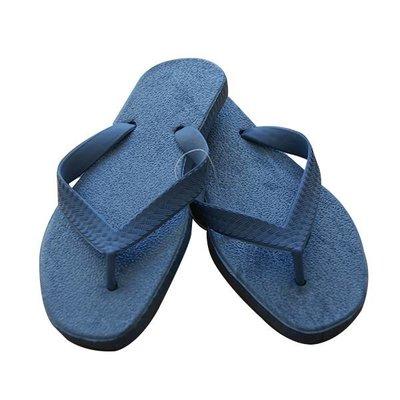 Sarraizienne Slippers blauw