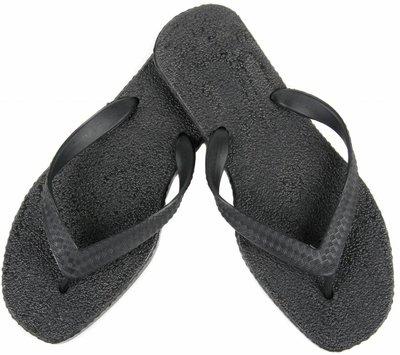 Sarraizienne Slippers zwart