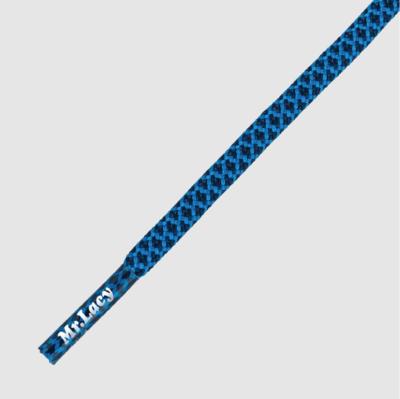Mr. Lacy Ropies marine blauw rond 130 cm