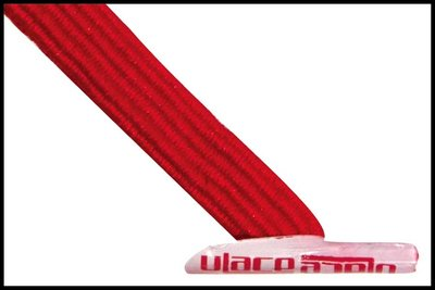 ULace elastiek veters scarlet red