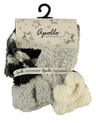 Baby- kinder sock anti slip Apollo boys (4 paar)