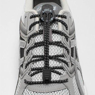 Lock Laces Elastic laces black one size
