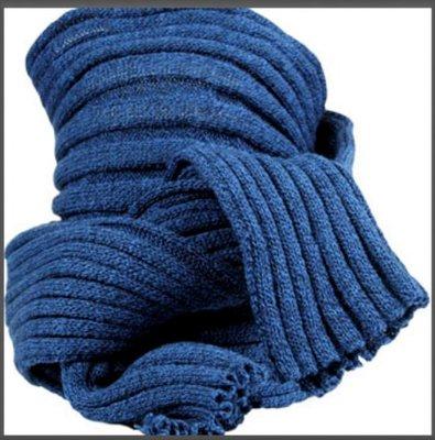 Sjaal bernardino blauw melee UNI 186 cm