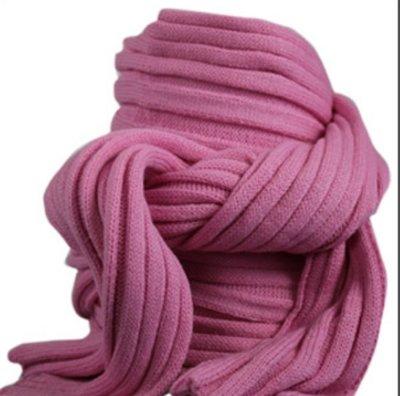 Sjaal bernardino roze UNI 186 cm