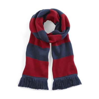 Sjaal beechfield rood blauw 182 cm