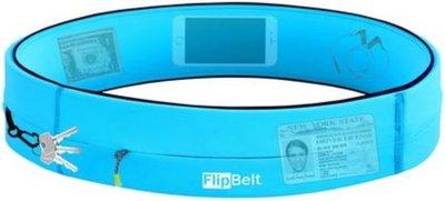 FlipBelt - Zipper - Running belt - Hardloop belt - Hardloop riem - Aqua