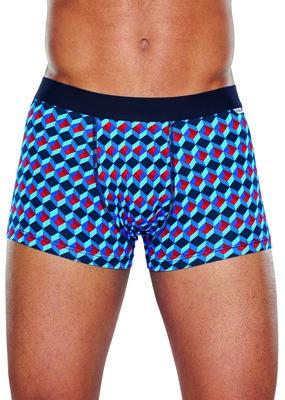 Happy Socks heren boxershort Optic rood blauw