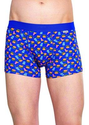 Happy Socks heren underwear FastFood blauw