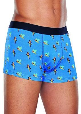Happy Socks heren underwear Parrot blauw