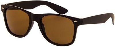 Az Eyewear Wayfarer Zonnebril bruin Polarized