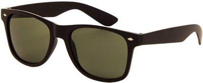 Az Eyewear Wayfarer Zonnebril zwart/groen Polarized