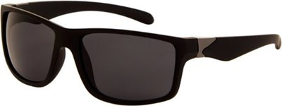 Polariserende casual zonnebril mat zwart