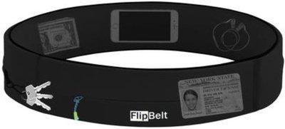 FlipBelt - Zipper - Running belt - Hardloop belt - Hardloop riem - zwart