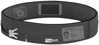 FlipBelt - Zipper - Running belt - Hardloop belt - Hardloop riem - carbon