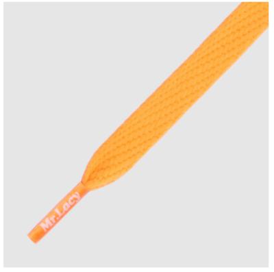 Mr. Lacy Flatties Bright Orange plat 130 cm